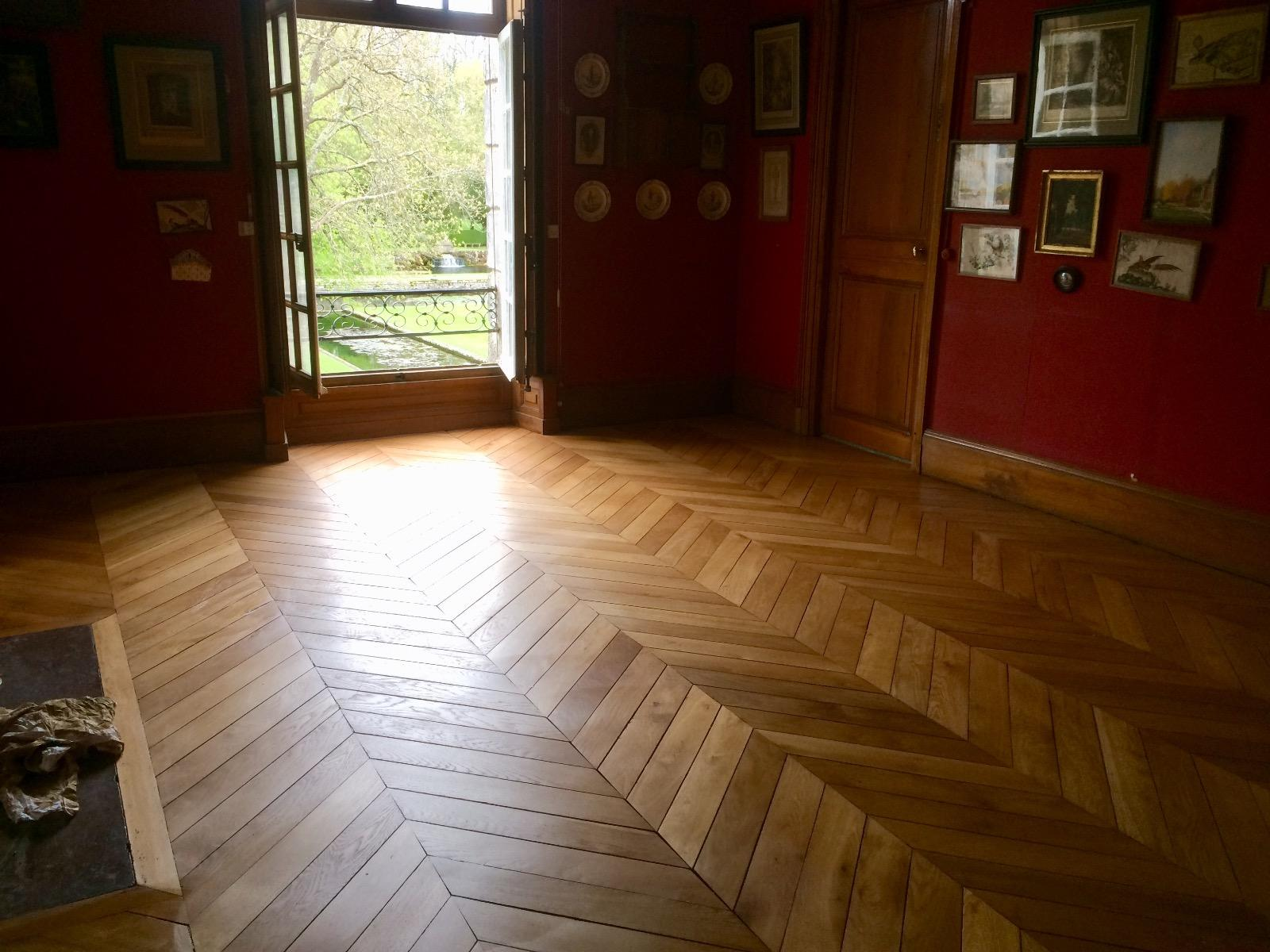 Rénovation parquet – Paris 16