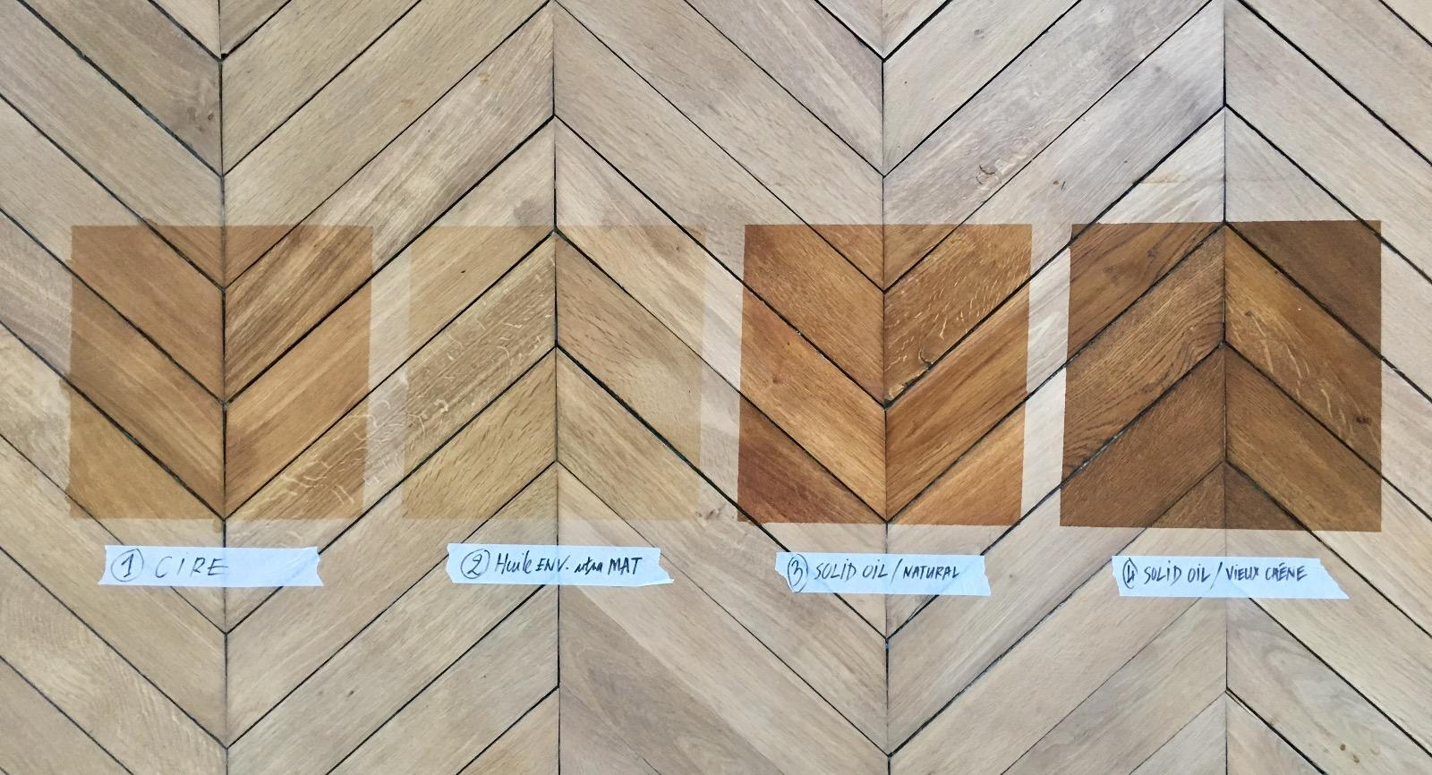 Vitrification parquet – Paris 16